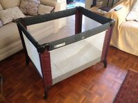 Travelling cot in good condition