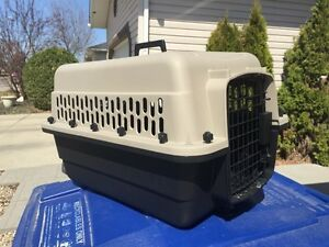 Dog Crates - Plastic and metal