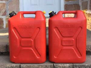 Jerry Cans - 20 litres ($10 each)
