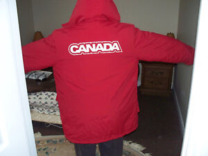 2006 HBC Canada Official Olympics Winter Coat Size Large