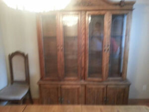Hutch/Buffet and Dining Table