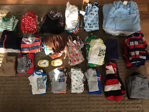 Name Brand Clothing 0-12 Months