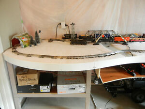 N, HO, O scale Toy train lay out table Kitchener / Waterloo Kitchener Area image 9