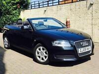 2009 09 REG. Audi A3 Cabriolet 1.8TFSI