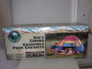 Kid's Dome Tent combo