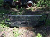 Powder coated winch/bush bumper