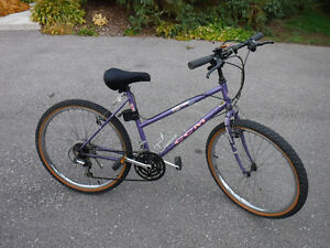"CCM Vector ladies bike, 21 speed, 26"" wheels,"