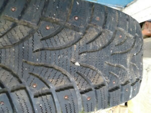 205/55R16 winter tire studded