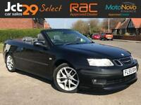 2005 55 SAAB 9-3 2.0 AERO T CHEAP CONVERTIBLE + PART EXCHANGE TO CLEAR + SOLD AS