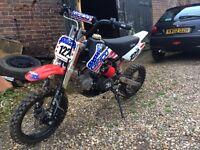 Pit bike stomp 110cc 2009