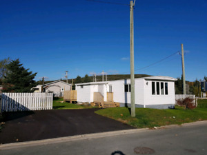 2 Bedroom Trailer home for rent in Goulds. With 10 x 12 shed
