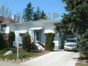 u of S – Main floor house with 2 large bedrooms for rent