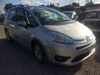 2007 CITROEN C4 GRAND PICASSO 2.0i 16V VTR Plus EGS AUTOMATIC 7 SEATER
