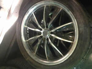 17x7 wheels with 215/45r17 tires