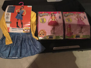 Size 4 girl costumes