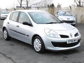 Renault Clio, Auto Expression, 2006, 52 000 Miles, FSH, 6 Months AA Warranty