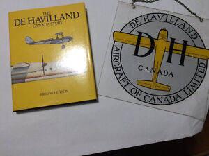 DeHavlland book and sign