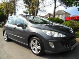 PEUGEOT 308 1.6 VTi SPORT 2008 COMPLETE WITH M.O.T HPI CLEAR INC WARRANTY