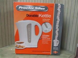 brand new procter silax kettle $15