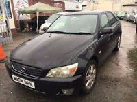 LEXUS IS 200 BLACK 6 SPEED 2004 PETROL MANUAL 2.0