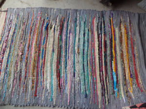 Cotton rag rug 68 by 40