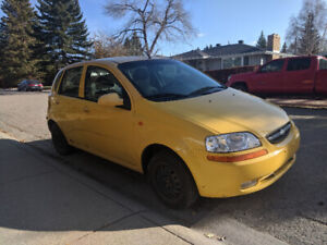 2004 Chevy Aveo5 Hatchback | 163xxxKMs, Manual