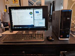 HP Pavilion s5560f - Slimline. 6GB memory, 1TB HD, Screen and ++