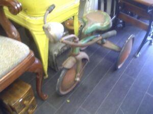 Vintage old tricycle