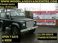 1999 LANDROVER 90 DEFENDER COUNTY SW 2.5 TD DIESEL (MOTED APRIL 2021)
