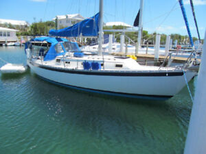 Endeavour 32 Sailboat,   Yanmar engine, great sails.