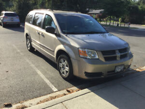 2009 Dodge Grand Caravan with stow and go seats for sale.
