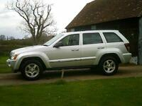2005/55 Jeep Grand Cherokee 3.0CRD V6 auto Limited
