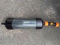 Carbon pond filter