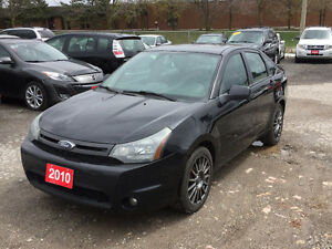 2010 Ford Focus SES (Certified & E-Tested) No Accidents!