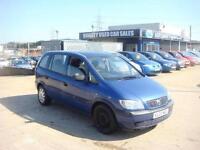 2003 Vauxhall Zafira Club 16v 1.6