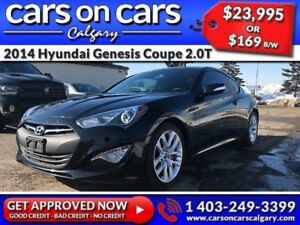 2014 Hyundai Genesis Coupe 2.0T w/Leather, Sunroof, Navi $169 B/