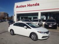 2013 Honda Civic LX FULLY HONDA CERTIFIED