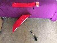 Genuine Red Maclaren Umbrella RRP £30.00