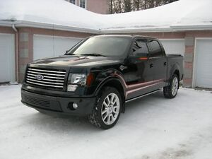 2011 Ford F-150 SuperCrew black harley-Davidson Not Winter Drive