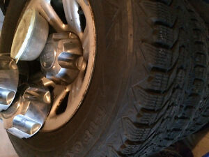 Winter Tires and Wheels from Ford Ranger