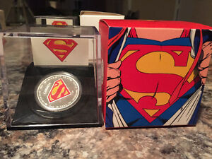 Silver,9999, coin, Superman, Royal Canadian Mint,