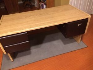 Solid oak desk for sale