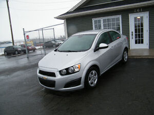 2012 Chevrolet Sonic 33,000 km, a/c INSPECTED