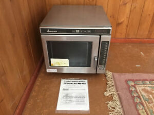 Commercial Grade Microwave and Commercial Grade Split Fryer