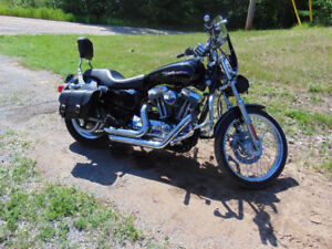 2005 harley XLC 1200 ..cash or trade.... for 4X4 pickup
