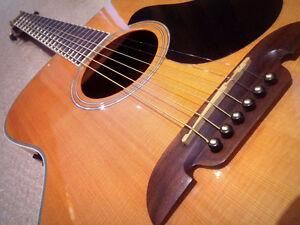 Alvarez Acoustic Electric AF60S - $375