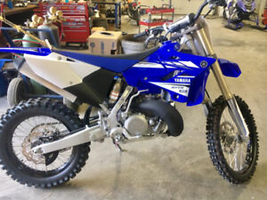 2017 yzx250 2 stroke with hitch and boots.