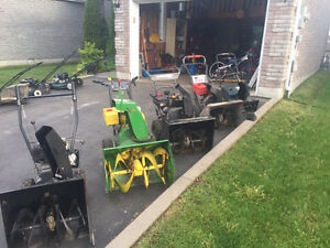Assorted Snowblowers
