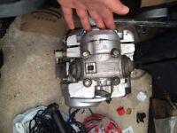 Yamaha YBR 125 engine