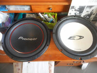 2 speakers pour voiture